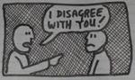 disagreeing cartoon