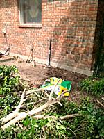 roots - wall, tools
