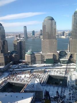 9-11 Memorial - above